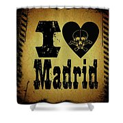 Old Madrid Shower Curtain