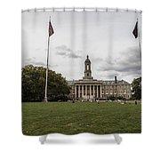 Old Main Penn State Wide Shot  Shower Curtain