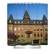 Old Main Spring Evening Shower Curtain