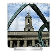 Old Main Thru The Turtle Shower Curtain
