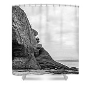 Old Man And The Sea Shower Curtain