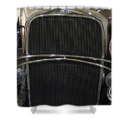 Old Man Chevy Shower Curtain