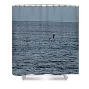 Old Man In The Sea Shower Curtain