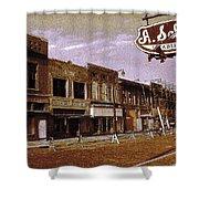 Old Memphis Beale Street Shower Curtain