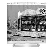 Old Mesilla Gazebo Shower Curtain
