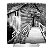 Old Mill 1 Shower Curtain