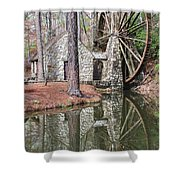 Old Mill 2 Shower Curtain