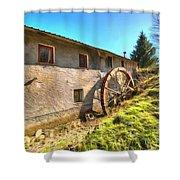 Old Mill - Antico Mulino Shower Curtain