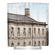 old mill building Oxford, England Shower Curtain