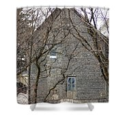Old Mill Building Shower Curtain