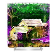 Old Mill Shower Curtain