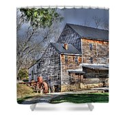 Old Mill Nelson County Virginia Shower Curtain