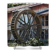 Old Mill Store Entry To Caverns Shower Curtain