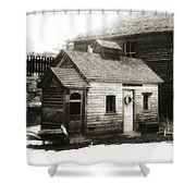 Old Miner Shower Curtain