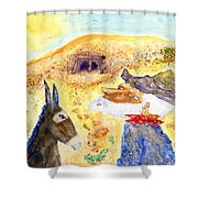 Old Miners Dream Shower Curtain