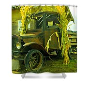 Old Model T  Shower Curtain