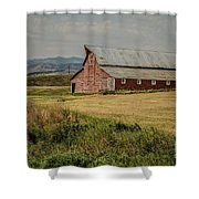 Old Montana Ranch Shower Curtain