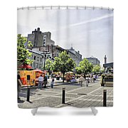Old Montreal June 2010 Shower Curtain