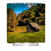 Old Mountain House Shower Curtain