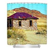 Old Nevada Bordello Shower Curtain
