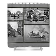 Old New Orleans Shower Curtain