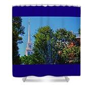 Old North Church, Boston # 3 Shower Curtain