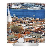 Old North Church Shower Curtain