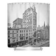 Old Nyc New Amsterdam Theater Photograph - 1905 Shower Curtain
