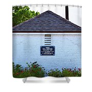 Old Oil House Shower Curtain
