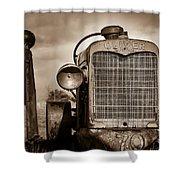 Old Oliver II Shower Curtain