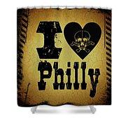 Old Philadelphia Shower Curtain