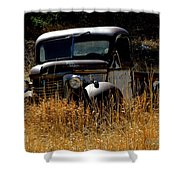 Old Pickup Truck Shower Curtain
