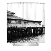 Old Pier Shower Curtain