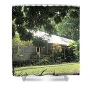 Old Plantation House Shower Curtain