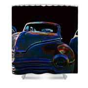 Old Plymouth Old Cars Shower Curtain