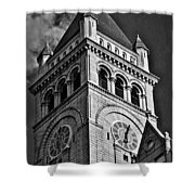 Old Post Office Pavilion Tower #2 Shower Curtain