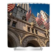 Old Post Office Washington D C Shower Curtain