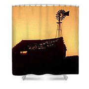 Old Pumphouse Shower Curtain
