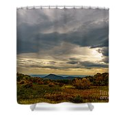 Old Rag - Calm Before The Storm Shower Curtain
