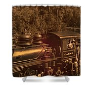Old Railway Through Cuenca Shower Curtain