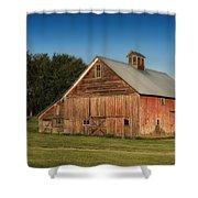 Old Red Barn Palouse Wa Dsc05067 Shower Curtain