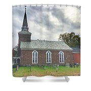 Old Reform Church Shower Curtain