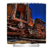 Old Relics Shower Curtain