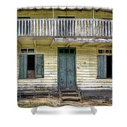 Old River House Shower Curtain