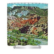 Old Roads To Chama Shower Curtain