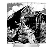 Old Rocky Mill Shower Curtain by Deleas Kilgore