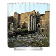 Old Rome Shower Curtain