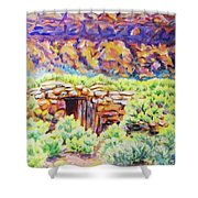 Old Root Cellar Shower Curtain