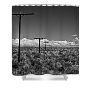 Old Route 66 #2 Shower Curtain