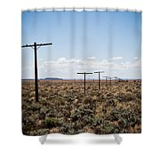 Old Route 66 #4 Shower Curtain